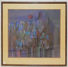 Artist Signed Pastel Painting