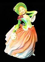 Royal Doulton Figurine, Autumn Breezes