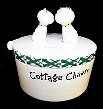 Holt Howard Cottage Cheese Kitty Jar