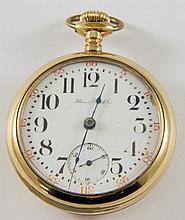 Illinois Watch Co. 17 jewel pocket watch