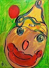 Peter Keil oil on canvas