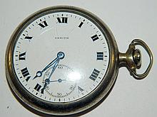 Zenith 15 jewel pocket watch