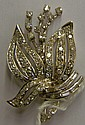 14 kt. gold an diamond pin
