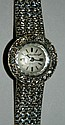 Mathey-Tissot 14 kt. gold and diamond watch