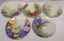 Porcelain Hand Painted Plates