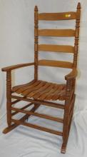 Ladder Back Rocking Chair