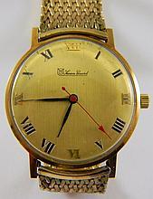 Lucien Piccard 14 kt. gold wrist watch