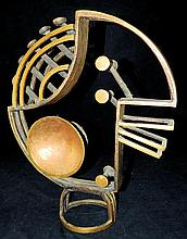Bronze modern design sculpture