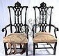 Pair of early arm chairs