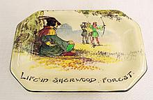 Royal Doulton Tray, Under The Greenwood Tree