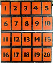 Early Carnival Betting Game Boards