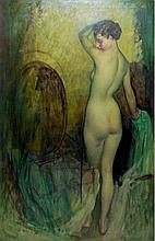 Raymond P. R. Neilson Oil on Canvas Nude