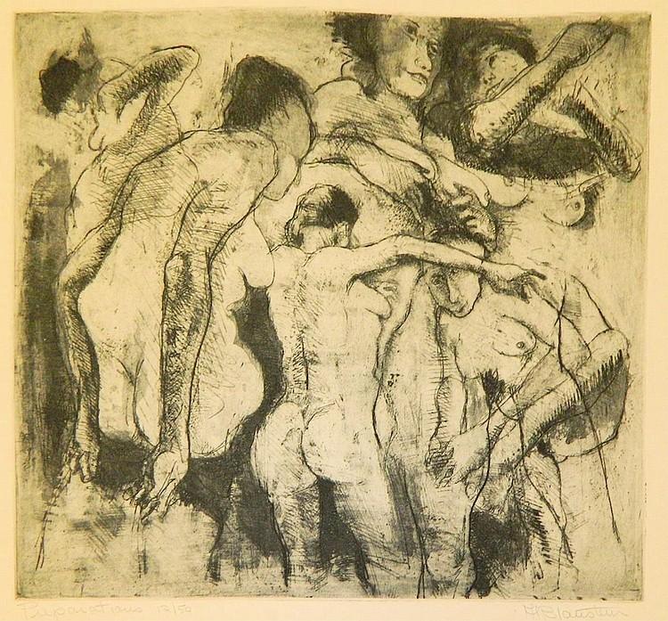 Al Blaustein print