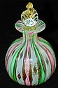 Murano art glass perfume bottle