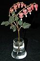 Manner of Faberge 18k gemstone flower