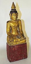 Oriental Carved and Decorated Buddha Figure