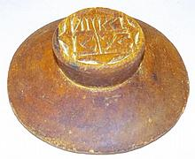 Carved Butter Mold