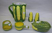 Group of Corn Dishes