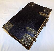German Martin Luther Bible Dated 1819