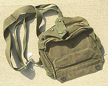US Military Green Canvas Bag