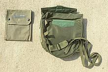 Two Green Military Bags