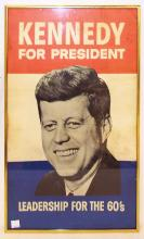 Kennedy For President Campaign Poster