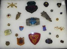 Group Of Pins & Miscellaneous
