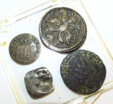 Group Of Ancient Coins