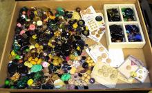 Large Group Of Miscellaneous Buttons