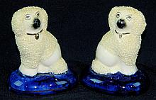 Pair of Staffordshire Dogs