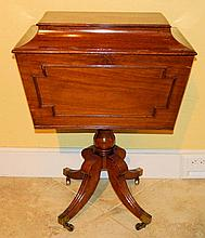 Superb Mahogany English Cellarette