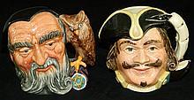 Pair of Royal Doulton Mugs