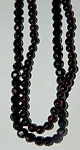 Pair of Garnet Strands