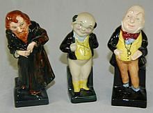 Grouping of Royal Doulton Figurines