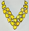 Sterling and Citrine necklace