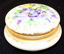 Hand Painted Porcelain Jar