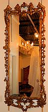 Large Early 19th Century Gold Gilt Mirror