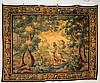 Large Flemish Verdure Tapestry Circa 1750
