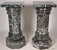Pair of Marble Columns