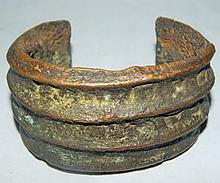 Antique Bronze Slave Bracelet