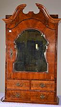 Early Broken Arch Hanging Cabinet