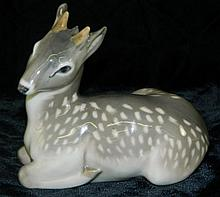 Royal Copenhagen Deer Figurine
