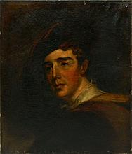 Oil on Canvas Portrait of Man