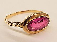 10k Gold & Ruby Ring