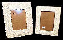 2 Porcelain Lenox Picture Frames