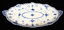 Royal Copenhagen Denmark Blue Decorated Tray