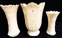 3 Lenox Vases