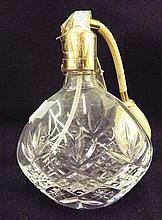 Royal Doulton Crystal Perfume Atomizer