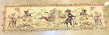 Battle Scene Tapestry