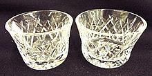 2 Crystal Cups